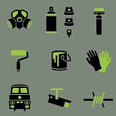 Graffiti icons