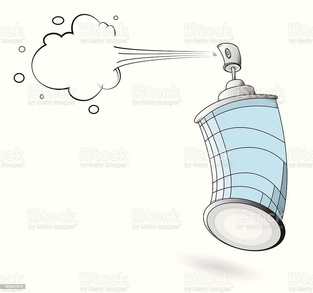 graffiti spray can stock vector art more images of above 462051613