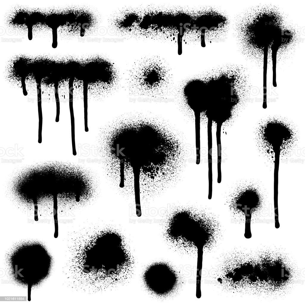 Peinture en aérosol Graffiti - clipart vectoriel de Abstrait libre de droits