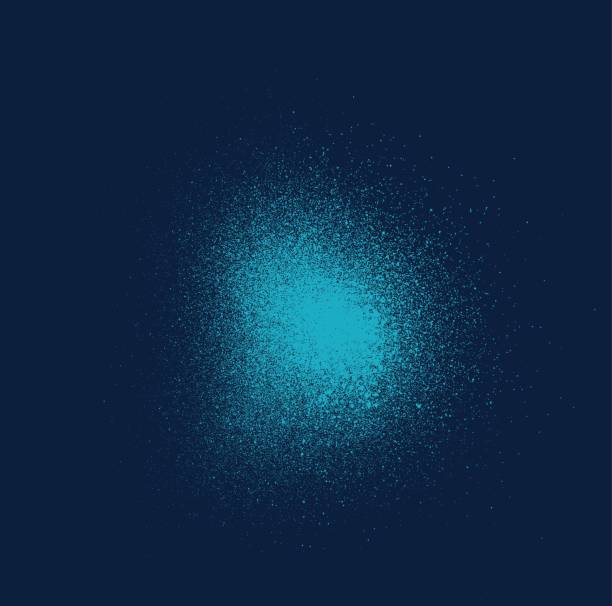 graffiti sprayed mist light effect in blue graffiti sprayed mist light effect in blue aerosol can stock illustrations