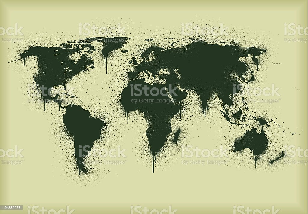 Graffiti stencil world stock vector art more images of color image graffiti stencil world royalty free graffiti stencil world stock vector art amp more images gumiabroncs Image collections