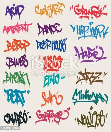 istock Graffiti tags 165922804