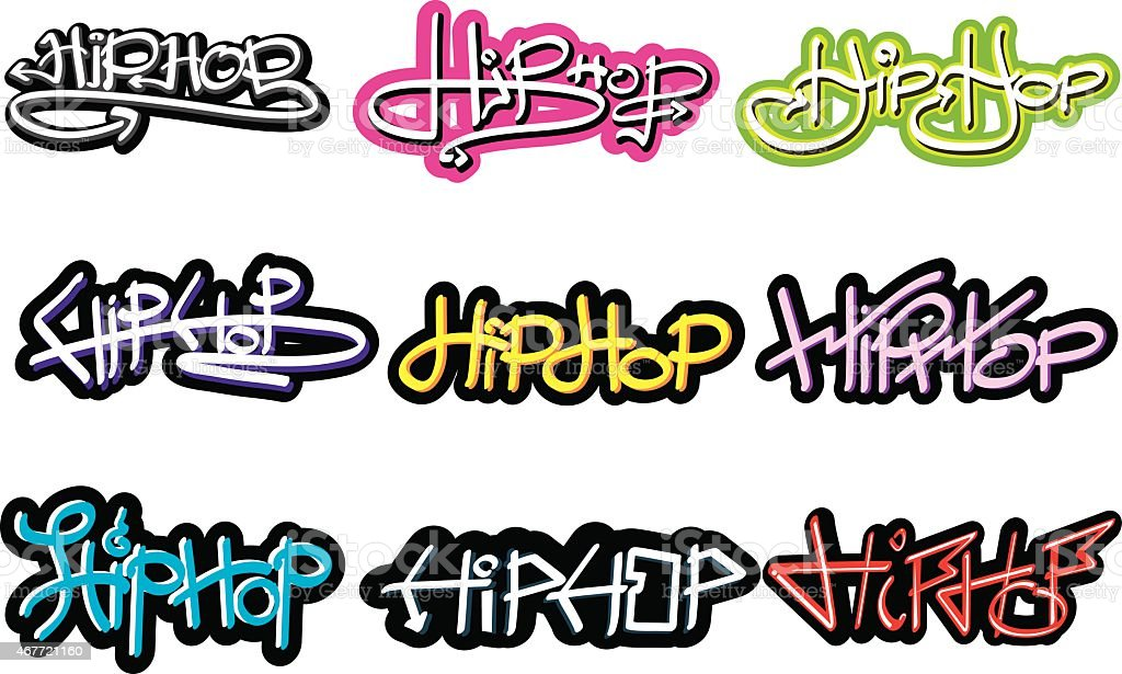 Graffiti vector art illustration