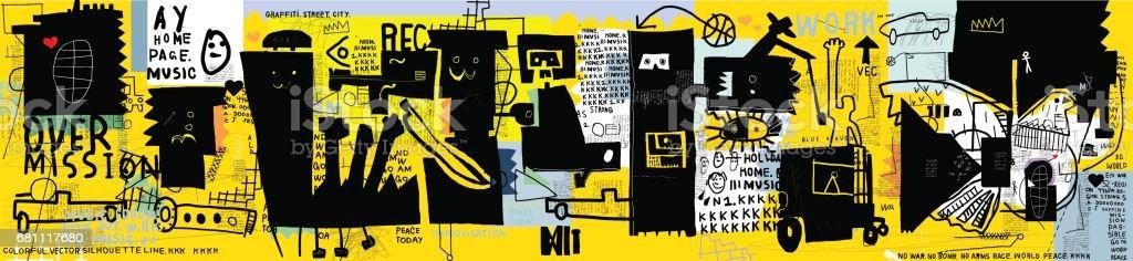 Graffiti – Vektorgrafik