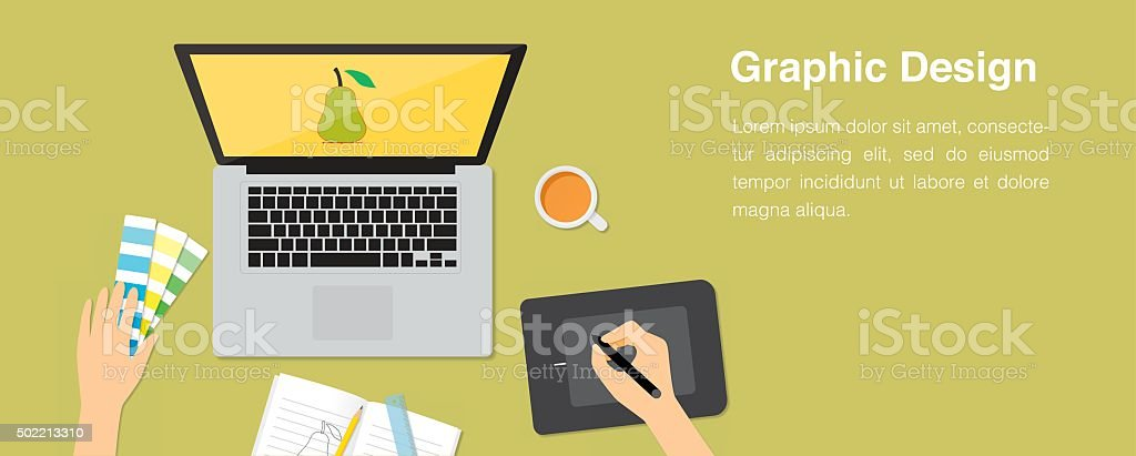 Grahpic Design Vector Illustration vector art illustration