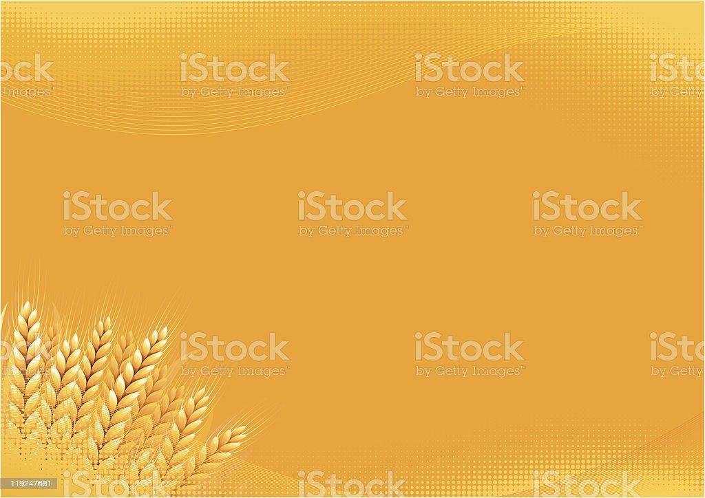 Grain background royalty-free stock vector art