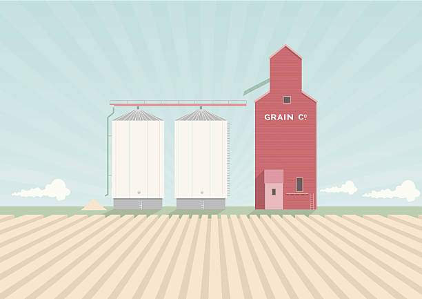 Best Silo Illustrations, Royalty-Free Vector Graphics ...