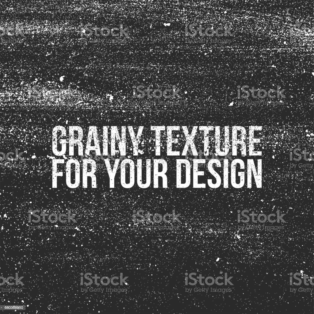 Grain grunge Texture like a Dust or Shalkboard vector art illustration