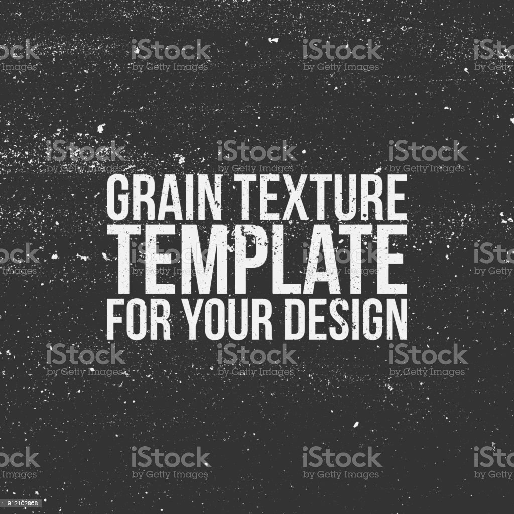Grain Texture Template for Your Design royalty-free grain texture template for your design stock illustration - download image now