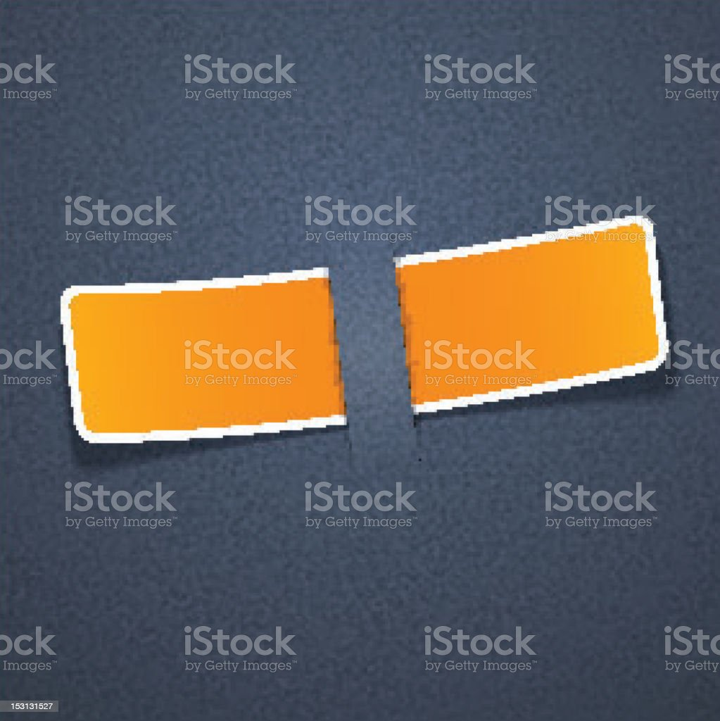 Grain texture with orange paper label. royalty-free grain texture with orange paper label stock vector art & more images of abstract
