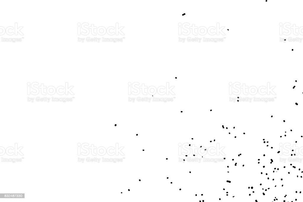 Textura Abstracta Grunge Granulada Sobre Fondo Blanco