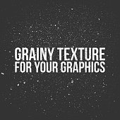 Grainy Texture for Your Graphics. Distress vintage Background