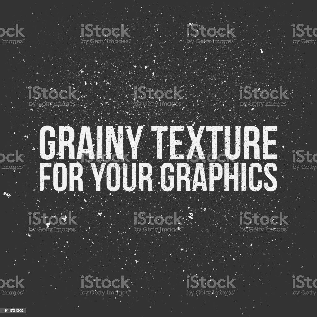 Grainy Texture for Your Graphics - illustrazione arte vettoriale