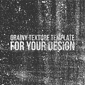 Grainy Texture Template for Your Design