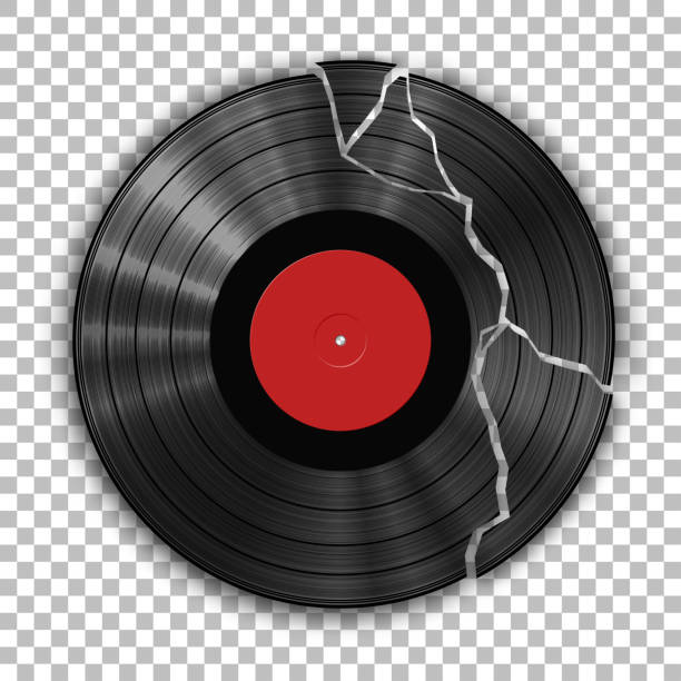Best Broken Record Illustrations Royalty Free Vector