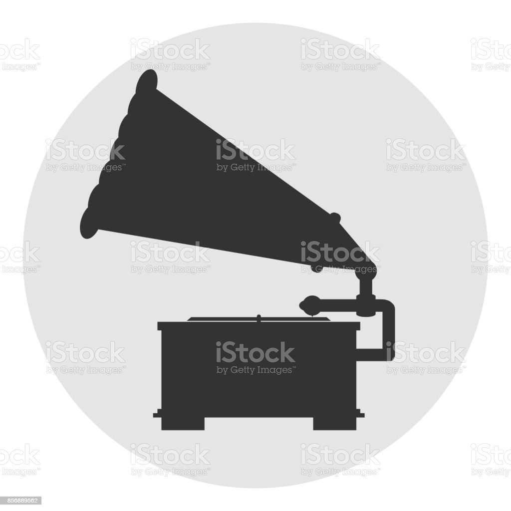 gramophone icon stock illustration download image now istock https www istockphoto com vector gramophone icon gm856889562 141851067