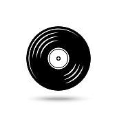 istock gramophone Record. Vinyl Record Vector illustration 1215392560