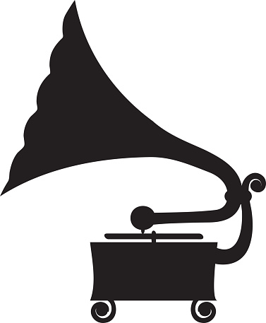 gramophone stock illustration download image now istock 2