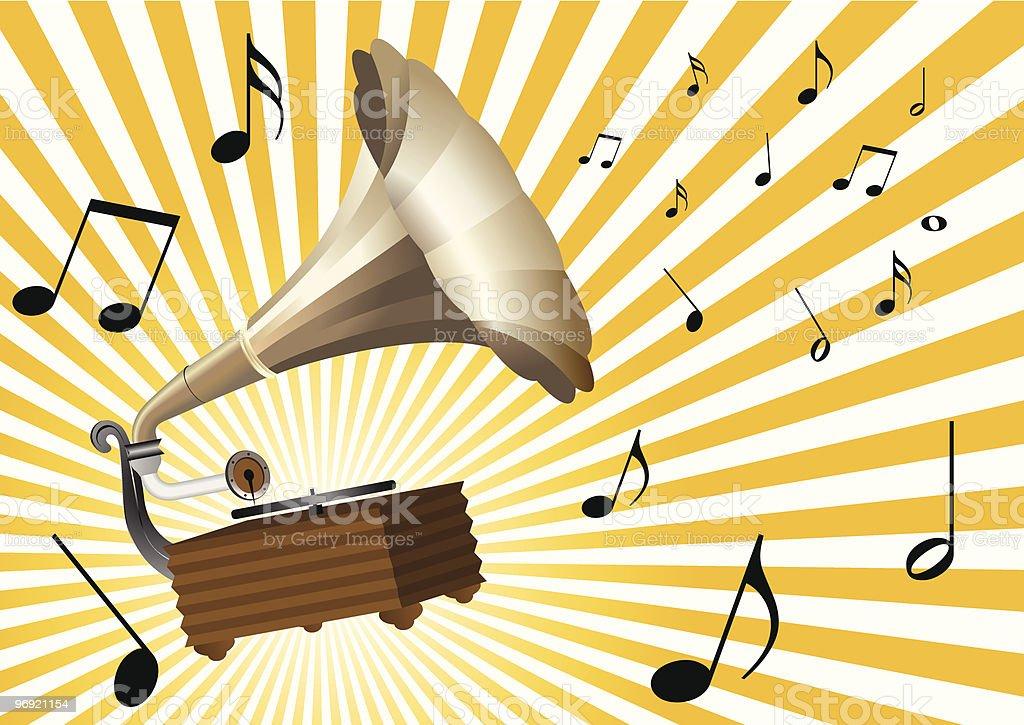 Gramophone royalty-free gramophone stock vector art & more images of analog