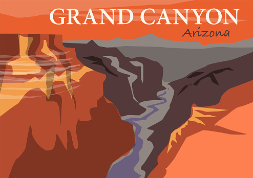 The Grand Canyon is a steep-sided canyon carved by the Colorado River in Arizona, United States