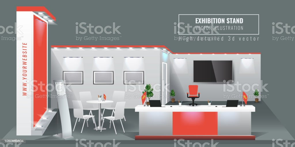 Exhibition Stand Art : D mtr jewellery exhibition stand cgtrader