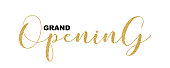 Gold calligraphic lettering font, glitter design elements for web banners, cards, invitations.