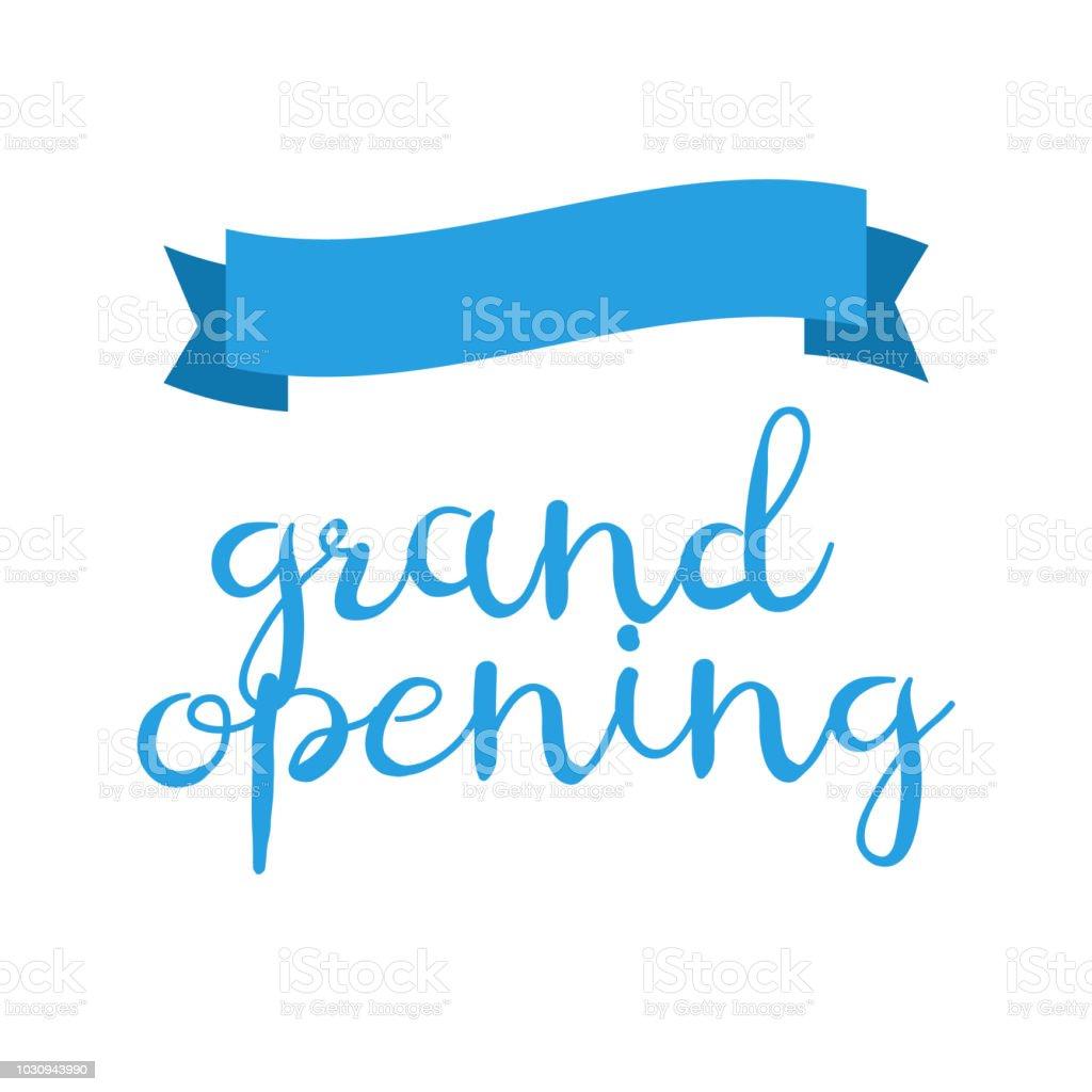 Ilustración De Gran Inauguración Tarjetas De Invitación