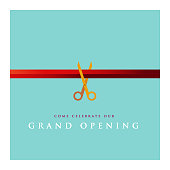 istock Grand Opening Invitation Design 1140818783