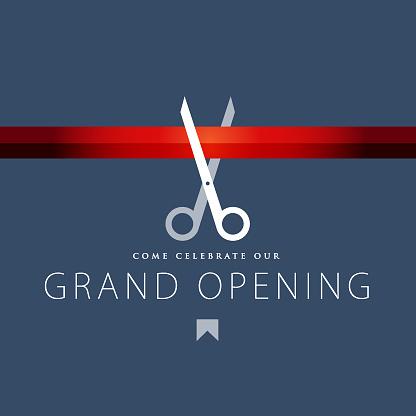Grand Opening Invitation Design