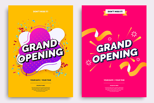 invite templates stock illustrations