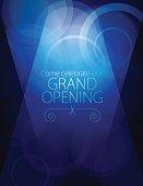 istock Grand opening luxurious invitation card 618428648