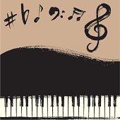 Grand Piano Background