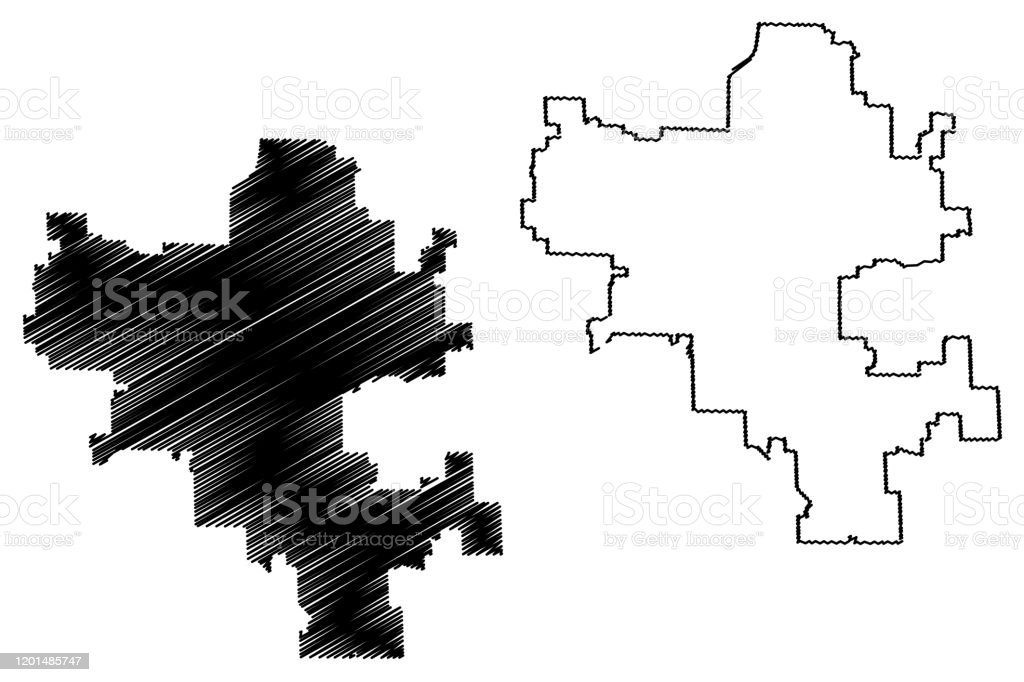 Grand Rapids City Map Michigan Stock Illustration Download Image Now Istock