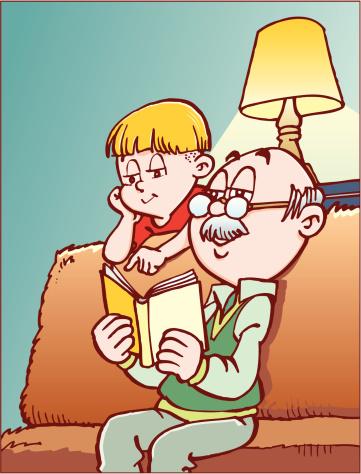 Открытка открытки, дедушка с внуками прикольные картинки