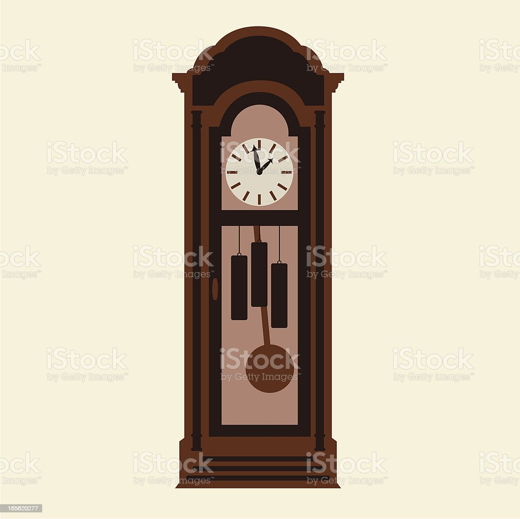 royalty free grandfather clock clip art vector images rh istockphoto com grandfather clock clip art public domain grandfather clock clip art free