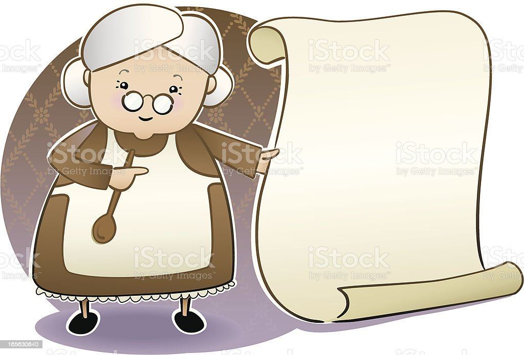 Grandma's Homemade with outlines royalty-free grandmas homemade with outlines stock vector art & more images of adult