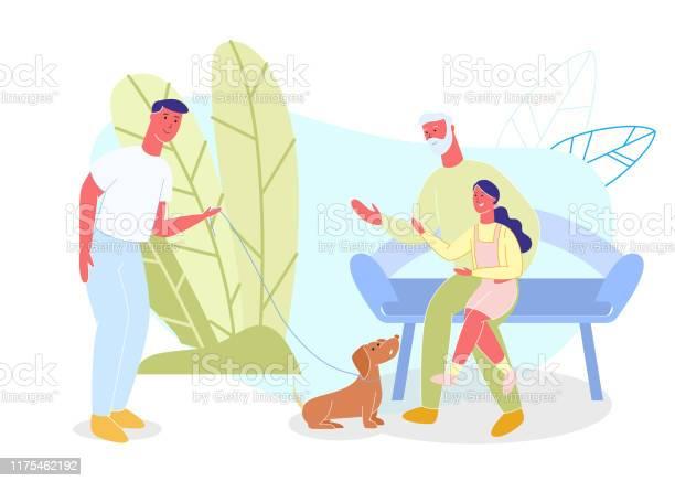 Grandpa and granddaughter man with dog in park vector id1175462192?b=1&k=6&m=1175462192&s=612x612&h=ejgbk0ifdyumgj32mulisrcew9eejaqh1plwkrfemwa=