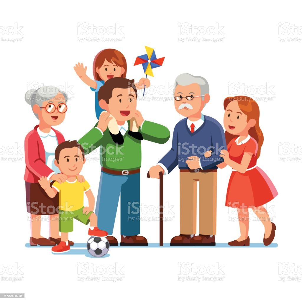 Royalty Free Grandson Clip Art, Vector Images ... Grandparents Family Clipart