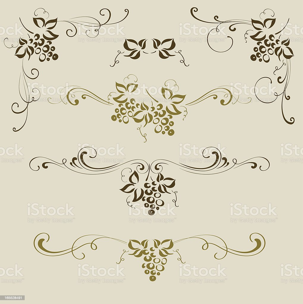 Grape ornaments royalty-free grape ornaments stock vector art & more images of black and white