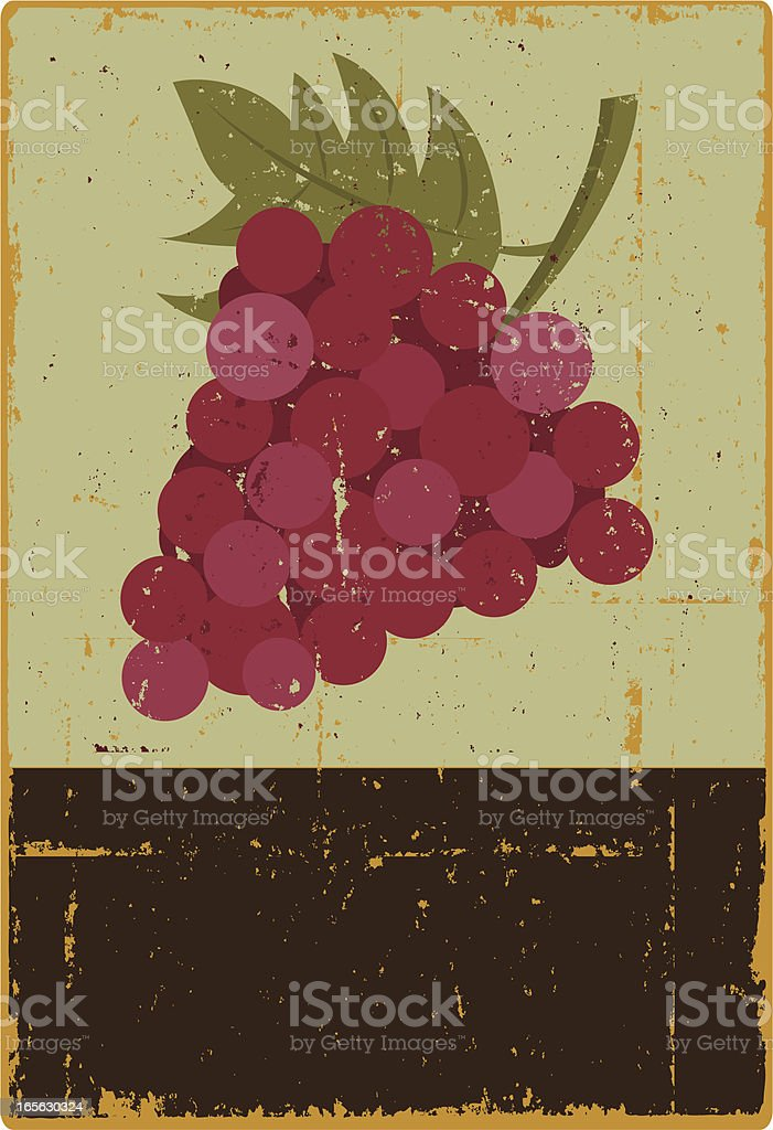 Grape Sign royalty-free grape sign stock vector art & more images of clip art