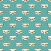 istock Grapefruit Dessert Japanese Sandwich Pattern 1306030521