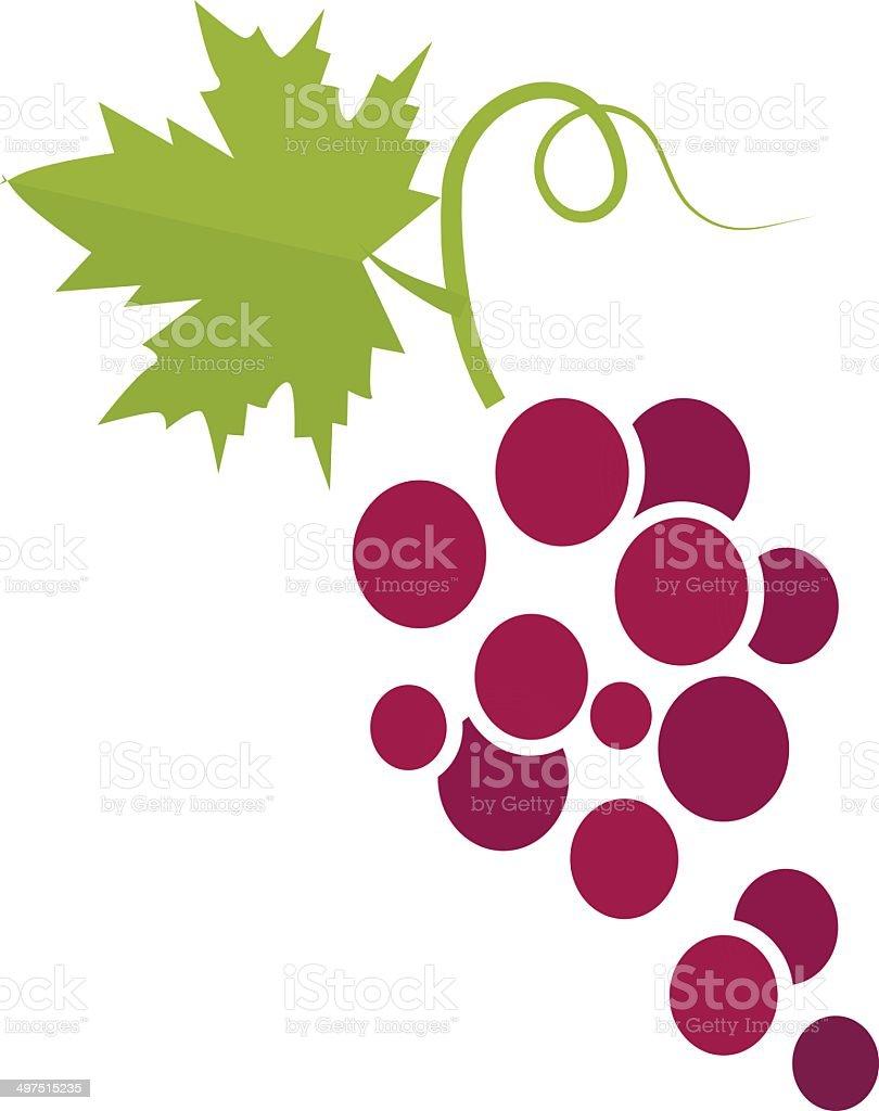grapes vector illustration vector art illustration