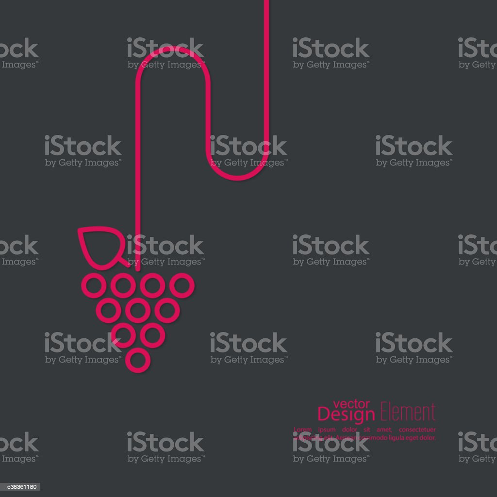 Grapevine leaves icon. Vector royalty-free grapevine leaves icon vector stock vector art & more images of abstract