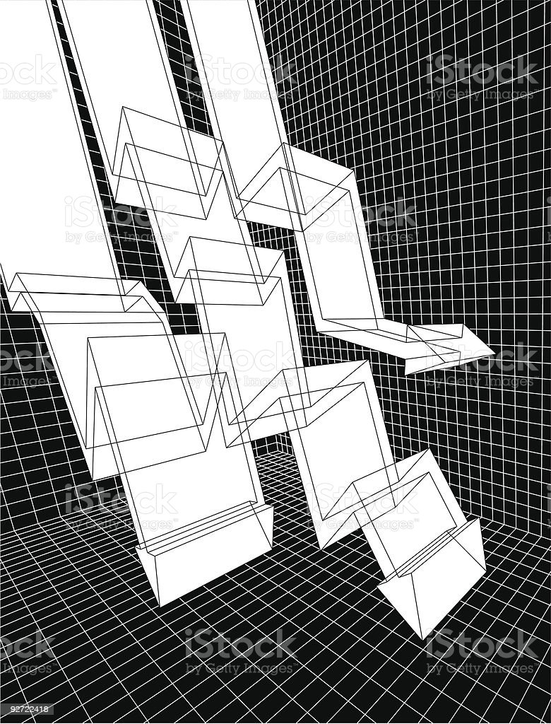 graph 2 royalty-free stock vector art