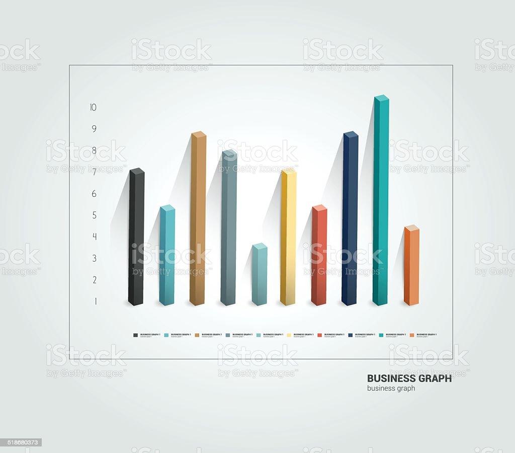 Diagramm, Diagramm. Infografik-Elemente. – Vektorgrafik