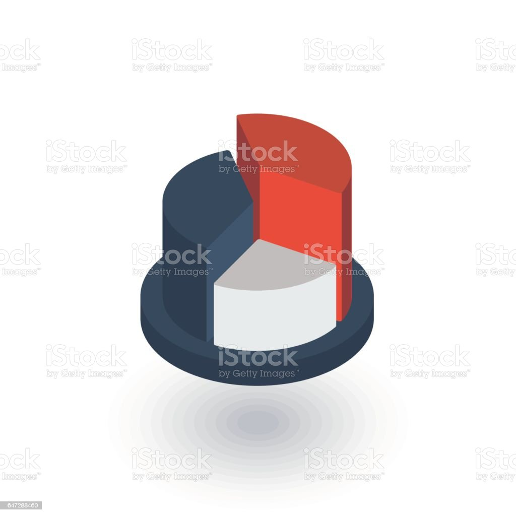 Graph chart pie diagram isometric flat icon 3d vector stock vector graph chart pie diagram isometric flat icon 3d vector royalty free graph chart nvjuhfo Images