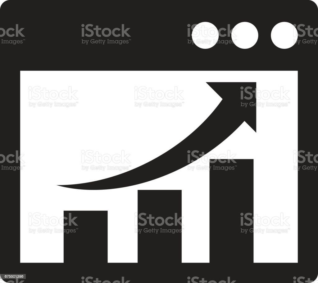 Grafik diyagramı simgeler royalty-free grafik diyagramı simgeler stok vektör sanatı & akmak'nin daha fazla görseli