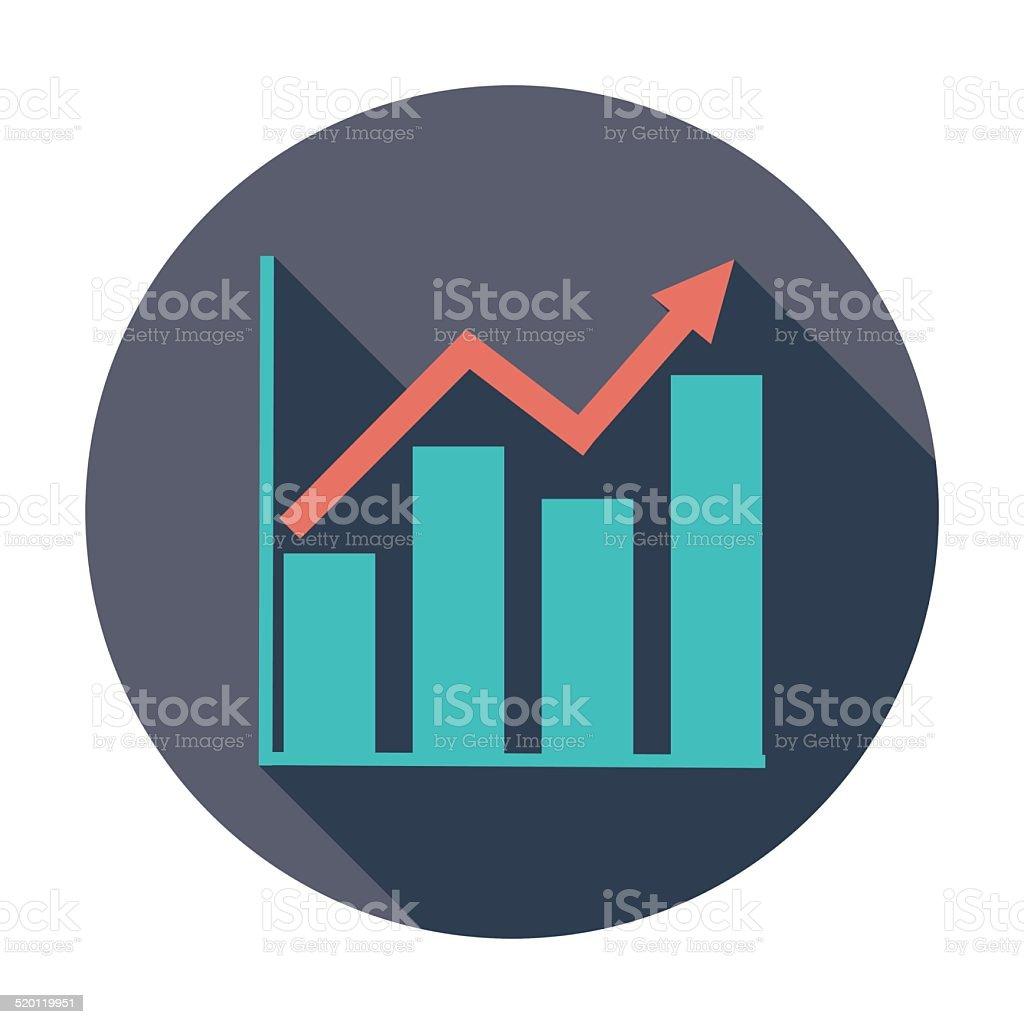 Graphik flache single-Symbol. – Vektorgrafik