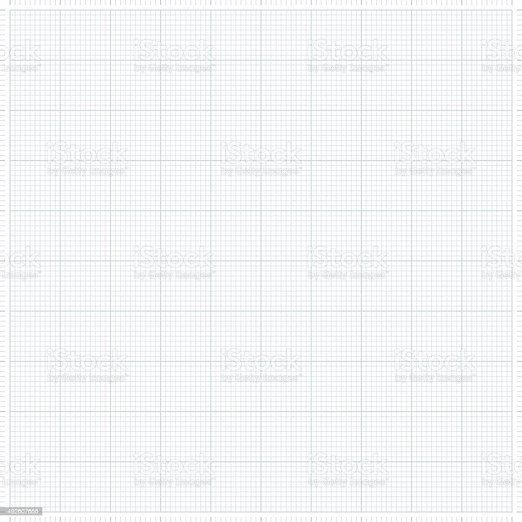 Graph grid paper vector illustration vector art illustration