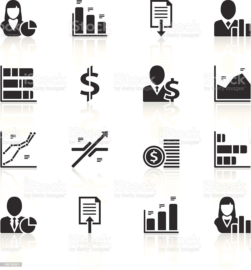 Graph icons royalty-free graph icons stock vector art & more images of advice